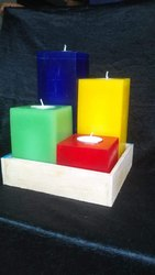 Pillar Candle Set