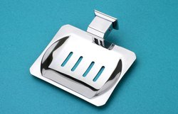 Kresha Stainless Steel Soap Dish, Size: 13 X 12 X 3 Cm, Material Grade: Sg304
