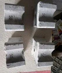 Square 40mm Block 50mm