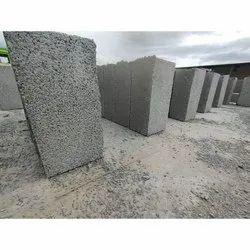 JK Concrete 12x8x6 Inch Hollow Block, For Side Walls