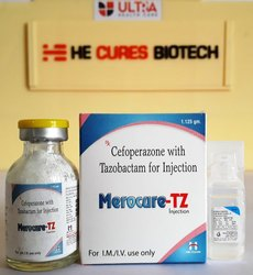 Cefoperazone 1000  Tazobactam 125 Gm Injection