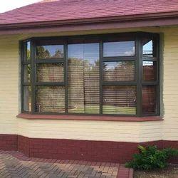 Color Coated Aluminium Window Grill, Rectangular