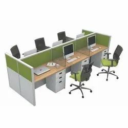 Office Workstations, Seating Capacity: 6 Person