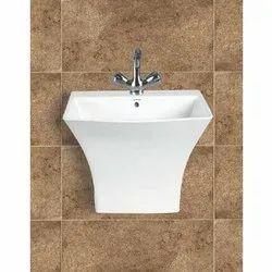 Half Hung Wall Wash Basin