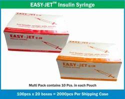 Plastic Syringes Without Needle 1 ML