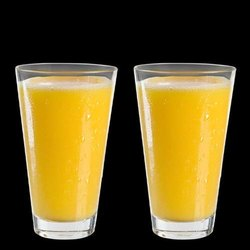 DeoDap Glassware & Drinkware -Stylish look Juicy Glass, Transparent Glasses Set 300ml (6pcs)