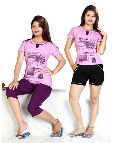 9aac60f981 V-Tex Women s Cotton Nightwear (D2093) at Rs 940  set