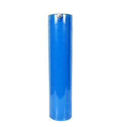 Blue Plain Pillar Candles