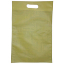 Yellow Plain D Cut Bag, Capacity: 2 To 5 Kg