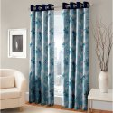 Polyester Printed Window Curtain, Size: 7 Feet