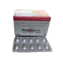 Methylcobalamin Folic Acid Thiamine Mononitrate Alpha Lipoic Acid and Pyridoxine HCL Capsules