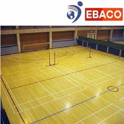 Indoor Brown Maple Badminton Flooring