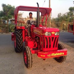 Red Mahindra Tractor Roof Canopy