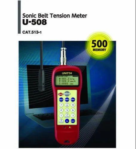"U 508 ""Unitta Japan"" Digital Belt Tension Meter"