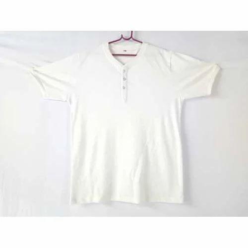 3d784114d3cd Men's Cotton V-Neck T-Shirt, Size: S, M And L, Rs 200 /piece | ID ...
