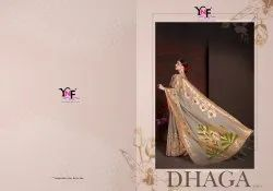 Dhaga Vol 2 Linen Art Silk Saree by Yadu Nandan Fashion