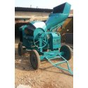 Hydraulic Concrete Mixer with Hopper