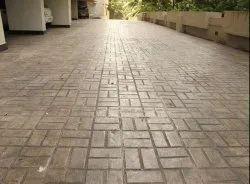 Stamped Concrete Floor
