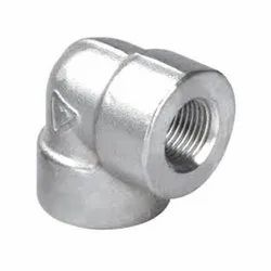 Alloy Steel A182 F91 Threaded Elbow
