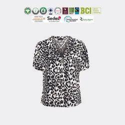 Sustainable Ladies Half Sleeve Shirts