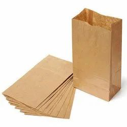 V Bottom Brown Paper Bag