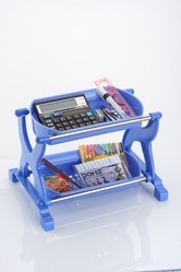 2 Layer Multi Purpose Plastic Rack