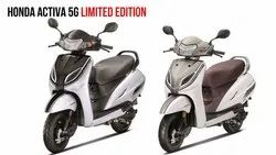 Honda Fan Cooled, 4 Stroke, Si Engine Activa 5G Limited Edition, Fuel Tank Capacity: 5.3 L