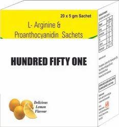 L arginine and Proanthocyanidin Sachets