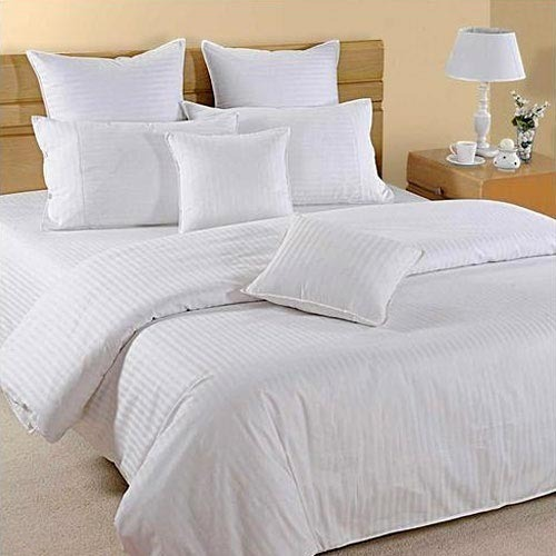 White Hotel Bed Sheet Bed Linen Rs 400 Piece Woven