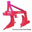 Two Furrow Bar Point Plough