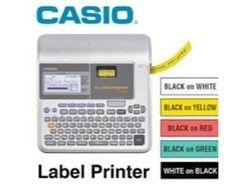 Casio Portable Label Printer