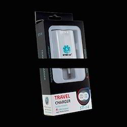 Studio-Y 4-Port USB Travel Charger Adapter 4.1A