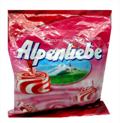 Alpenliebe Strawberry F Butter Toffee