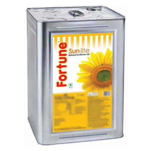 Mono Saturated Fortune Sunflower Oil, 15 L ,Packaging Type ...