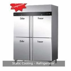 Stainless Steel Static Cooling Refrigerator