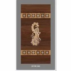 Printed Finished Rectangular Panel Hardwood Door