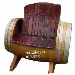 Wooden Barrel Furniture