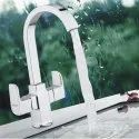 Channel Faucets Deck Mounted Centre Hole Basin Mixer Alive, For Bathroom Fittings