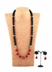 SPJ029 Gemstones Classy Statement Necklace