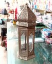 Gold Moroccan Candle Lantern