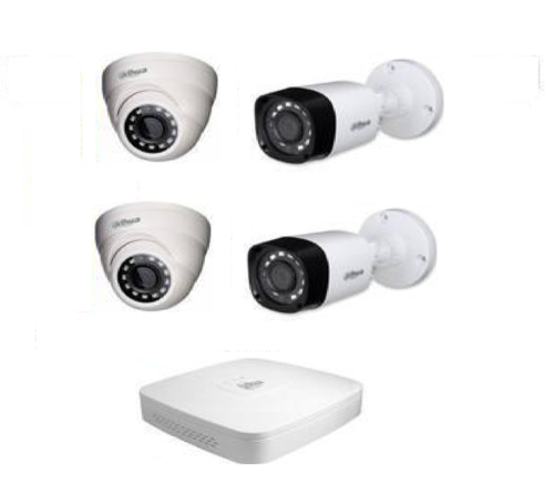 Dahua 2 Mp Hd Analog Cctv Camera & Dvr System