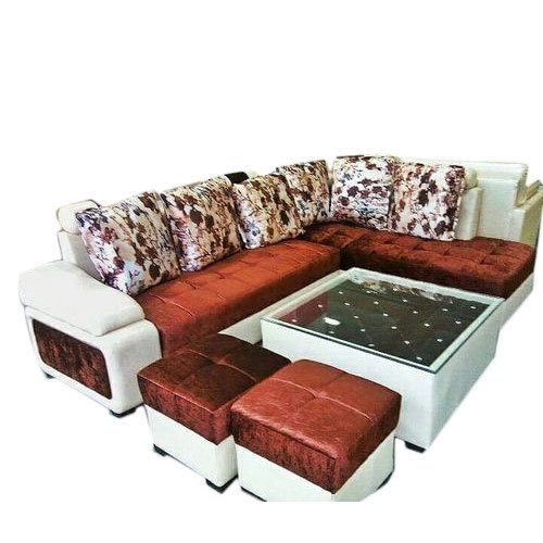 6 Seater Wooden Sofa Set At Rs 25000, Best Sofa Set Under 25000