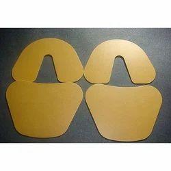Polycarbonate Yellow Dental Base Plate