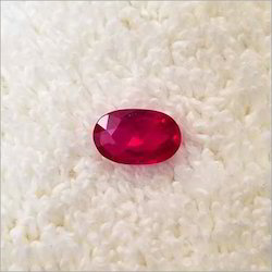 Natural Oval Ruby Gemstone