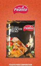 Feasto MIX Cheese And Chilli Sandwich Spread MRP15 45gm, Packaging Size: Packet