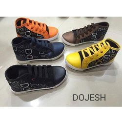 Dojesh Printed High Neck Casual Shoes, Packaging Type: Box