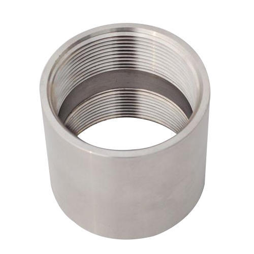 Kheteshwar Metals (india) Stainless Steel Pipe Couplings, for Structure Pipe