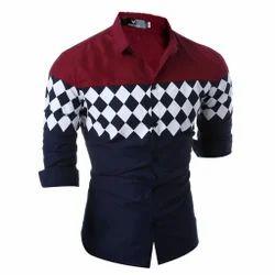 Party Wear Slim Fit Men's Stylish Shirt