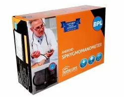 BPL Aneroid Sphygmomanometer Manual BP Monitor (Blue)