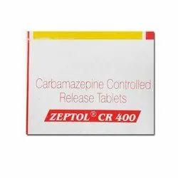 Carbamazepine Zeptol Cr 400 Tablets